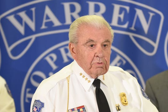 Warren Police Commissioner William Dwyer