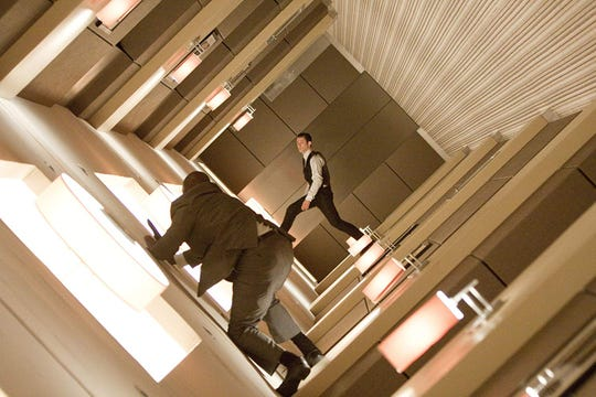 "Joseph Gordon-Levitt in ""Inception."""
