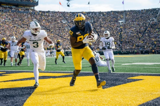 Michigan tight end Nick Eubanks is playing in the bowl game but still mulling whether he will return for a final season.