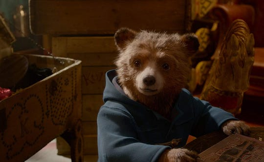 "Ben Whishaw voices Paddington in ""Paddington 2."""