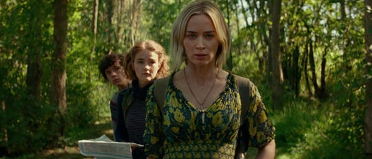 """Emily Blunt (center) in """"A Quiet Place: Part II."""""""