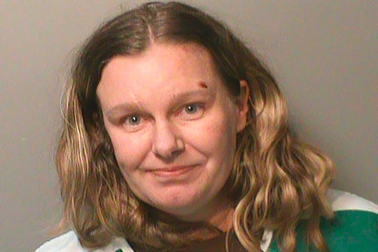 "This undated photo provided by the Polk County (Iowa) Jail shows Nicole Marie Poole Franklin. Clive, Iowa police on Thursday, Dec. 19, 2019, charged Franklin, of Des Moines with attempted murder. She's accused of purposely running down a 14-year-old girl who was walking along a sidewalk in a suburban neighborhood. Police say Franklin told investigators she hit the girl because she is ""a Mexican."""