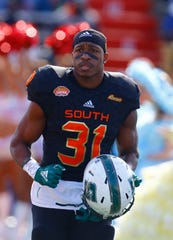 Wes Hills was invited to the Senior Bowl after finishing his Slippery Rock career.