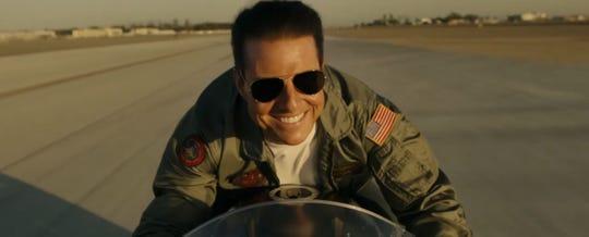"Tom Cruise in ""Top Gun: Maverick."""