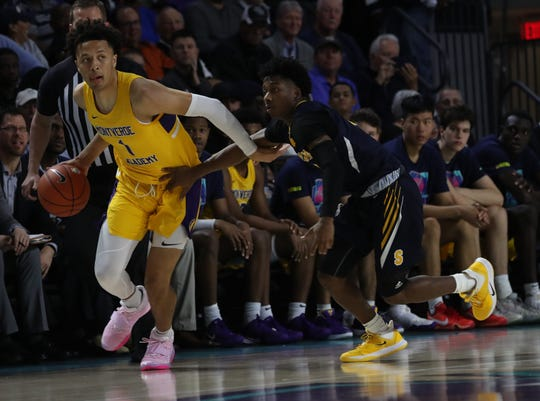 Montverde senior guard Cade Cunningham and the Eagles will face off with Bradenton IMG Academy at 8:30 p.m. Monday in the Culligan City of Palms Classic championship game.