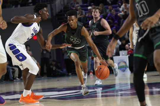 Fort Myers faces IMG in the 2019 City of Palms Classic on Thursday, Dec. 19, 2019, at Suncoast Credit Union Arena in Fort Myers.