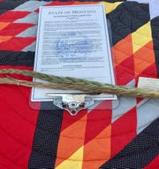 Gov. Steve Bullock signed this proclamation Friday commemorating Dec. 20 as the day the Little Shell Tribe of Chippewa Indians of Montana received federal recognition.