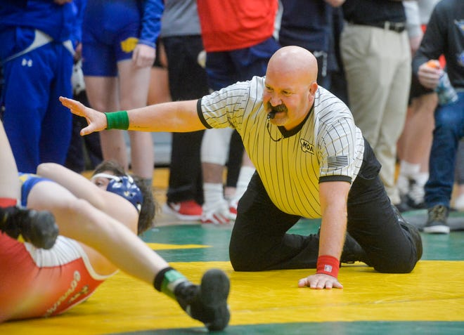 The C.M. Russell Hoilday Classic wrestling tournament on Friday in the CMR Fieldhouse.