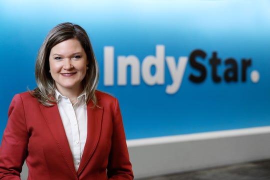 Staff portrait of Ginger Rough, IndyStar's interim executive editor.