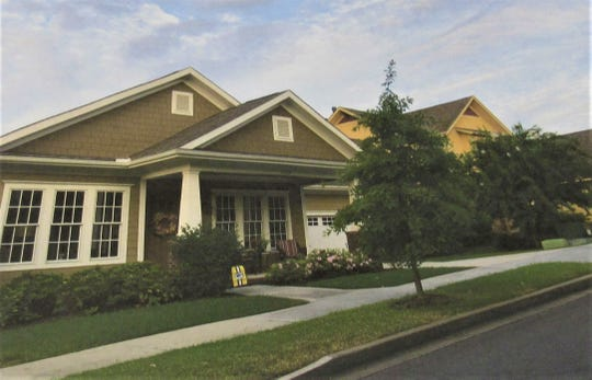 Results of a public survey about development in the McFee Road corridor showed that virtually all voters preferred only single-family homes or cottages, similar to this example.