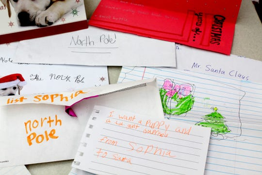 Here's a look at what Acadiana kids are asking Santa for this year.
