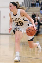 Hartland's Lexey Tobel was a three-time all-county pick and Player of the Year in 2016-17.