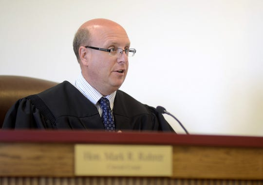 FILE - The Honorable Judge Mark Rohrer in a July 2013 photo.