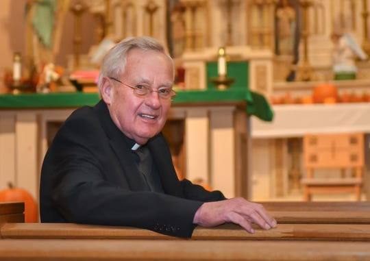 The Rev. Dale Grubba has been the pastor at St. John the Baptist Catholic Church in Princeton for more than 30 years and for 20 years at St. James in Neshkoro.