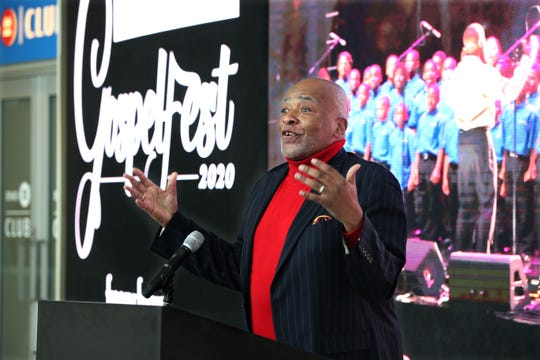 A. Curtis Farrow announced Friday that he's bringing GospelFest 2020 to the Fiserv Forum on April 10.