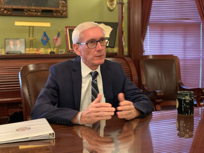 Gov. Tony Evers.