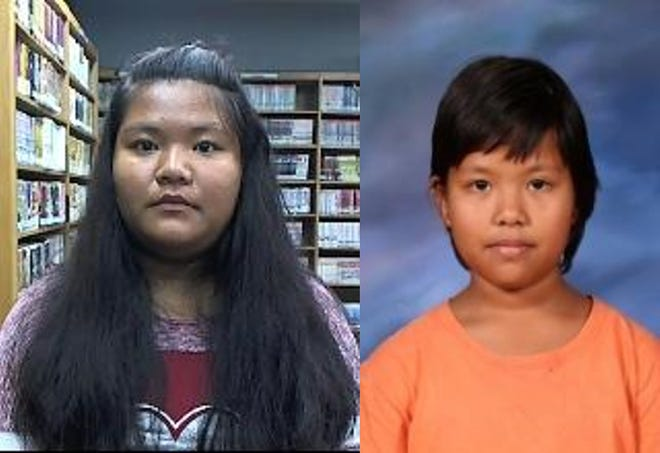 Sha Boe Pyo, left, and Eh Ku Paw, right, are seen in photos provided by police.