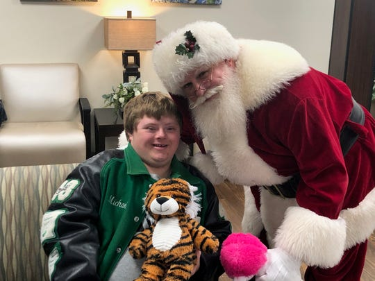 The Ranger Boats family and Santa Claus stopped by Baxter Regional Medical Center on Monday morning to deliver some special gifts to the hospital's patients.