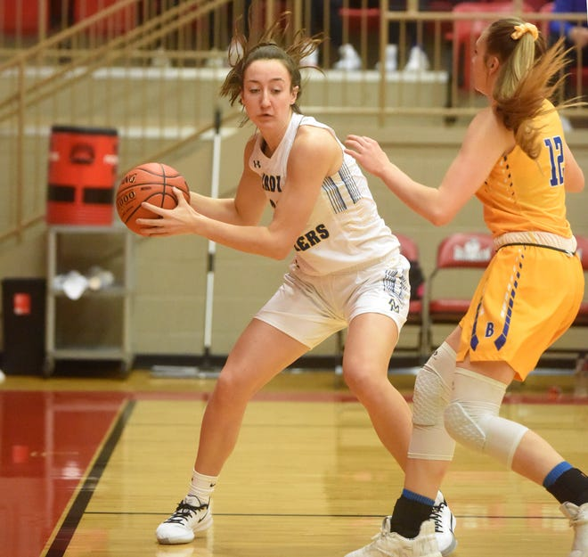 Mountain Home's Anna Grace Foreman is averaging 15.2 points per game and 12 rebounds per game this season. The Lady Bombers host their annual 1st Arkansas Bail Bonds Tournament this week.