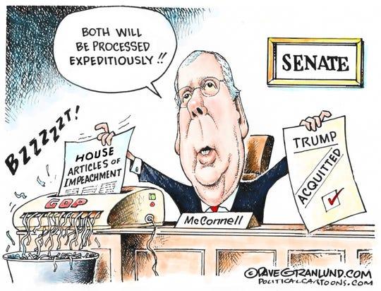 Senate to shred impeachment?