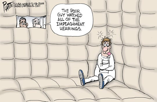 """""""This guy watched all of the hearings."""""""