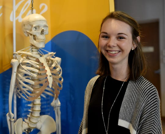 University of Cincinnati freshman studying biomedical engineering Carrie Dietz discovered her passion for STEM while in middle school and participating in the Works annual STEMfest competition.