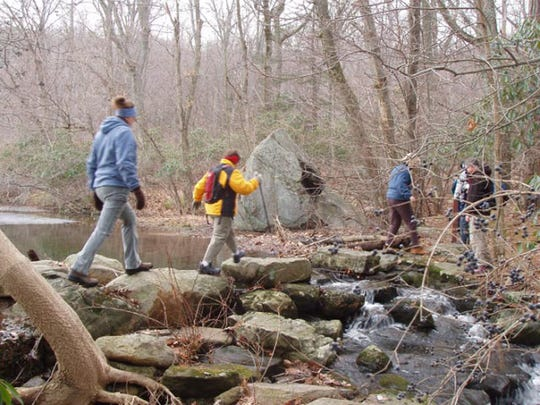 A First Day Hike to Mt. Defiance at Ringwood State Park in Ringwood has become an annual tradition.
