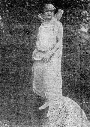 Miss Myrtle M. Mornhinveg, 1923 Cotton Carnival Queen