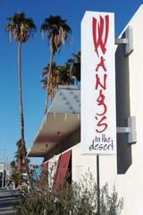 Wang's in the Desert is being purchased by the local hoteliers who run Sparrow Lodge and Holiday House in Palm Springs, Calif. Here the restaurant is seen on Thursday, Dec. 19, 2019.
