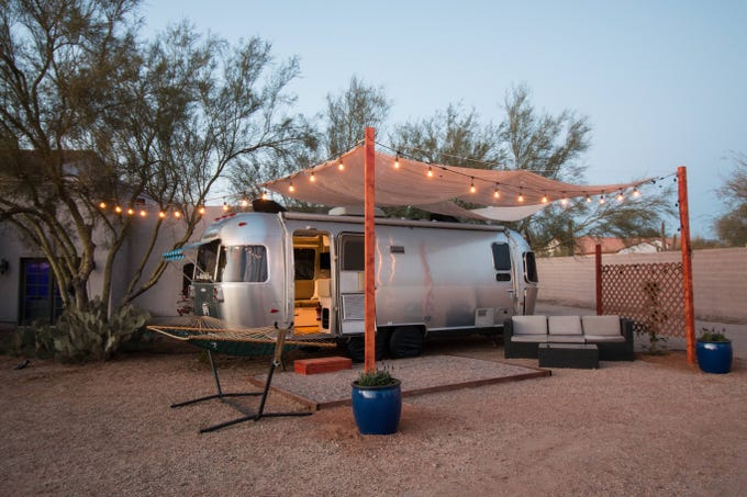 An Airstream is one of the Arizona sites you'll find on Hipcamp.com, which offers more than 300,000 listings nationwide.