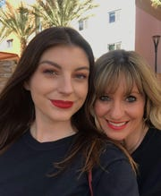 Brooke Askew-Rossi, right, with daughter Simone, a senior at Arizona State University studying political science.