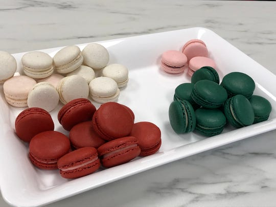 Macarons are not only delicious, they're colorful too, making for a festive holiday gift around Christmas or Valentine's Day.