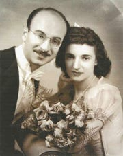Egon and Belle Gartenberg opened Belle Jewelers in downtown Chambersburg in 1946.