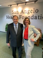 San Angelo Health Foundation President Tom Early has announced he will retire in June, 2020, and the board has tapped Deborah Watson to take over in July.