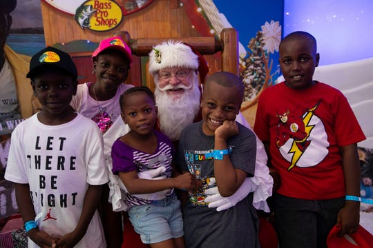 Bass Pro founder Johnny Morris brought Santa's Wonderlandto Freeport, Bahamas. The event came months after Hurricane Dorian destroyed 90 percent of the buildings in the most affected areas and left more than 70,000 people in need of food and water.