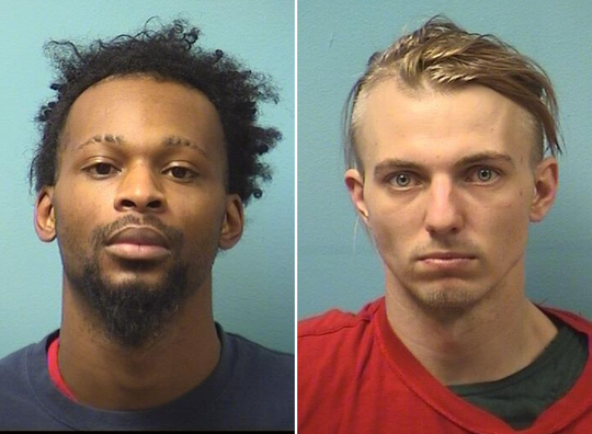 pooG DaBleed DevilDrugChristLord, 26, and JB Daniel Zimmer, 27, are being held in the Stearns County Jail.