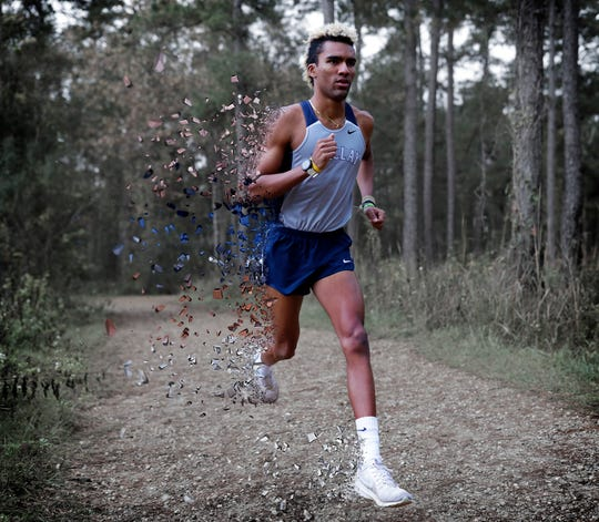 Maclay senior Jay Brown is the 2019 All-Big Bend Runner of the Year in boys cross country after winning five races, including district and regional titles, while also finishing third in Class 1A and running an area-best 15:14 time.
