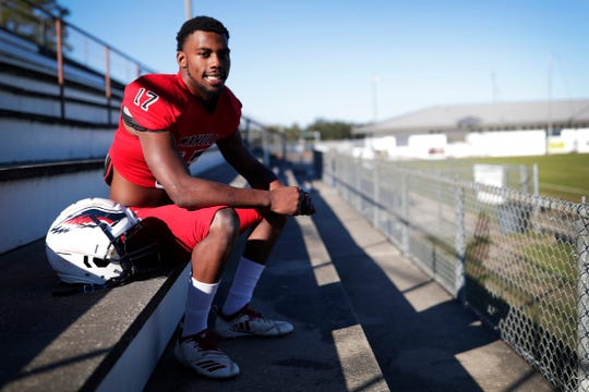 Wakulla senior linebacker Keyshawn Greene was named the 2019 All-Big Bend Defensive Player of the Year in football after recording 147 tackles, nine tackles for loss, and an interception for a dominant defense that guided the War Eagles to a 13-1 season that concluded in the state semifinals.