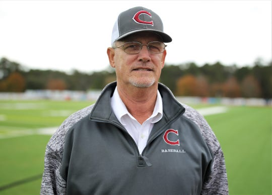 Chiles boys golf coach Ken Smith was named the 2019 All-Big Bend Coach of the Year in boys golf after the Timberwolves won their first state championship.
