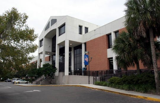 Leon County's downtown library