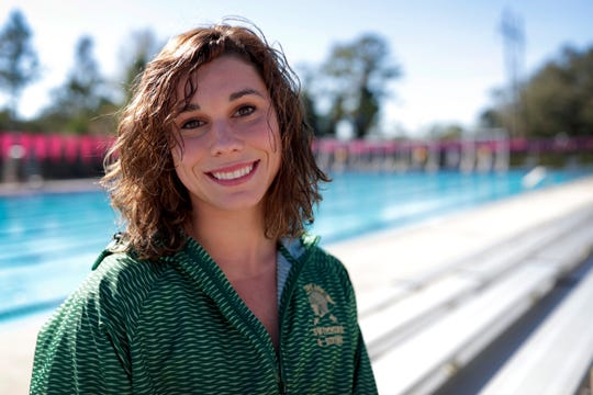 Lincoln senior Saige Kemeny is a co-recipient of the 2019 All-Big Bend Swimmer of the Year honor in girls swimming after winning a state title in the Class 3A 100-meter breaststroke with an All-American Consideration time while also placing third in the 200-meter individual medley.