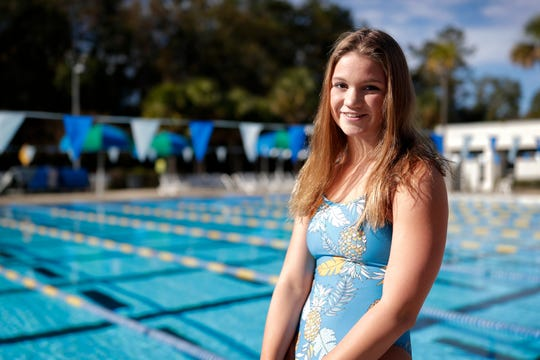 Chiles sophomore Lydia Hanlon is a co-recipient of the 2019 All-Big Bend Swimmer of the Year honor in girls swimming after winning state titles in the Class 3A 100-meter backstroke and 100-meter butterfly, both with All-American Consideration times.