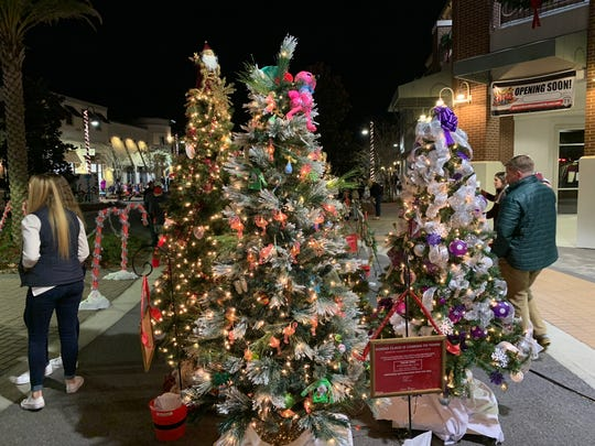 Trees up for auction at the Tree Jubilee raised funds for UF Health Shands Children's Hospitals.