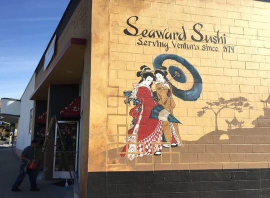 Seaward Sushi is at 34 S. Seaward Ave. in Ventura.