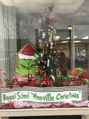 Anthony Rossi Middle School's entry in Main Street Vineland's Christmas Tree Decoration Contest captured third place.