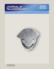 """Associate Professor of Geosciences Jesse Carlucci and MSU Texas graduate Gabriel Jacobs had their research published by the Journal of Paleontology, the publication of the Paleontological Society, an international organization devoted to paleontology. The article, """"Ontogeny and shape change of the phacopid trilobite Calyptaulax,"""" is the cover story for the November issue, published by Cambridge University Press."""