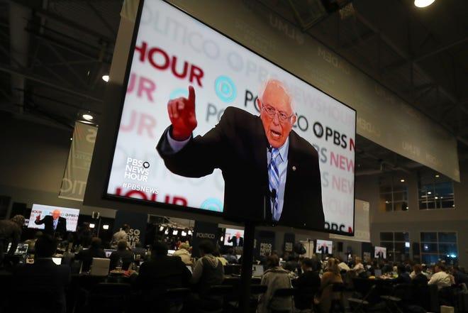 Vermont senator Bernie Sanders debates