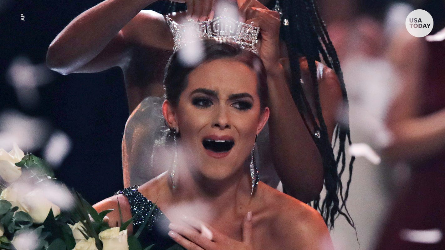 Miss America 2020 Camille Schrier 'chose not to compete' until swimsuit portion was axed