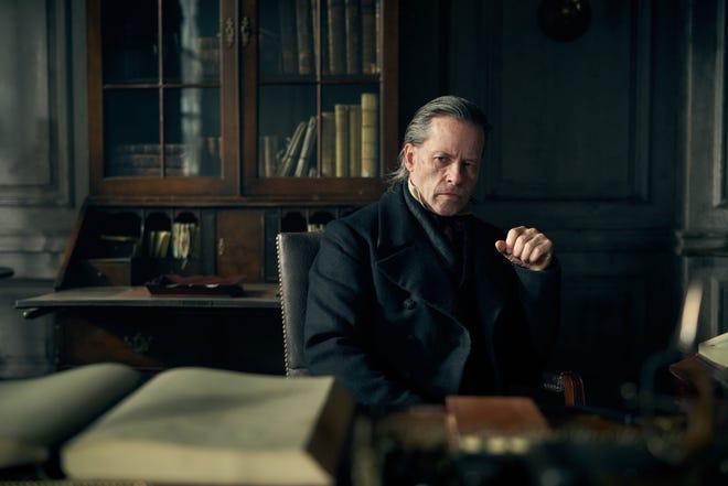 Guy Pearce as Ebenezer Scrooge in FX's 'A Christmas Carol'