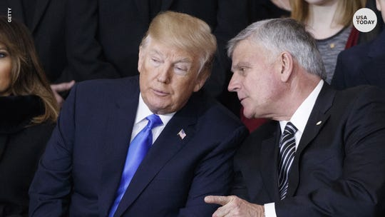 Franklin Graham has been a vocal supporter of President Donald Trump.